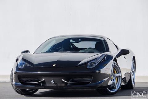 2010 Ferrari 458 Italia for sale in Ontario, CA