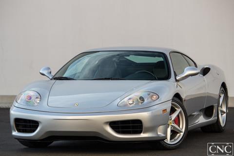 2001 Ferrari 360 Modena for sale in Ontario, CA