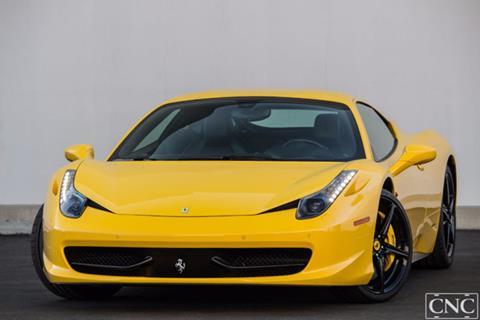 2011 Ferrari 458 Italia for sale in Ontario, CA