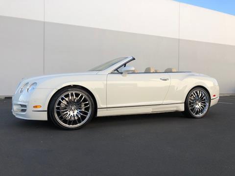 2007 Bentley Continental GTC for sale in Ontario, CA
