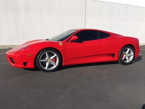 2003 Ferrari 360 Modena For Sale In Upland, CA