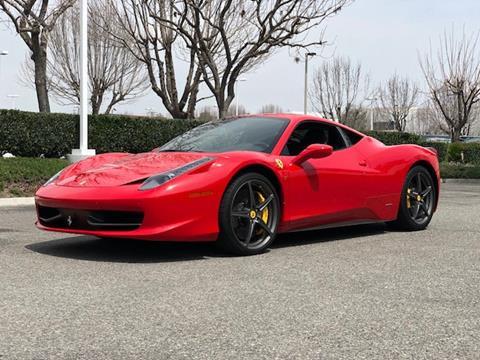 2012 Ferrari 458 Italia For Sale In Ohio Carsforsale
