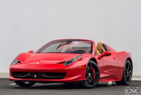 ferrari 458 spider for sale in oxford, me - carsforsale®