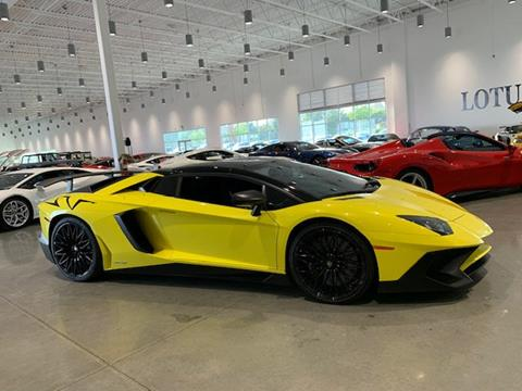 Used Lamborghini Aventador For Sale In Raleigh Nc Carsforsale Com