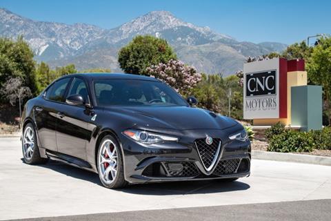 2017 Alfa Romeo Giulia Quadrifoglio for sale in Upland, CA