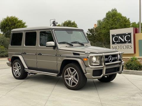 2017 Mercedes-Benz G-Class for sale in Upland, CA