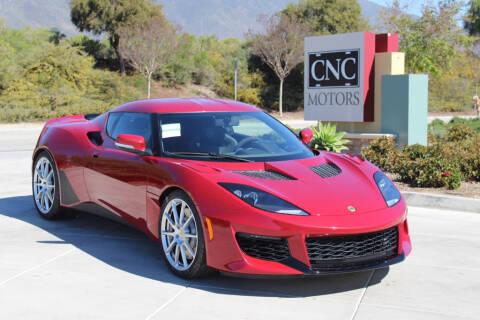 2020 Lotus Evora GT for sale at CNC Motors Inc in Upland CA