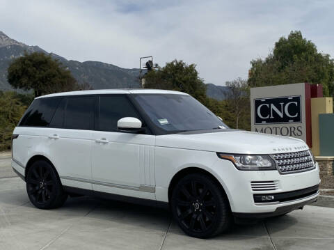 2016 Land Rover Range Rover Supercharged for sale at CNC Motors Inc in Upland CA