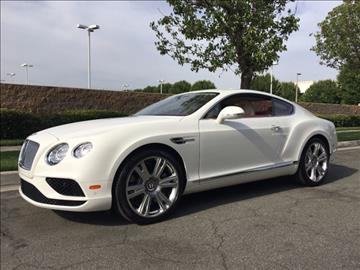 2016 Bentley Continental GT V8 for sale in Ontario, CA