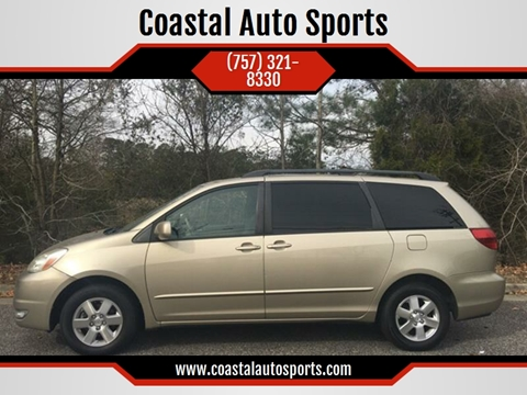 2004 Toyota Sienna for sale at Coastal Auto Sports in Chesapeake VA