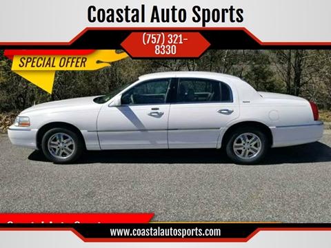 2005 Lincoln Town Car for sale at Coastal Auto Sports in Chesapeake VA