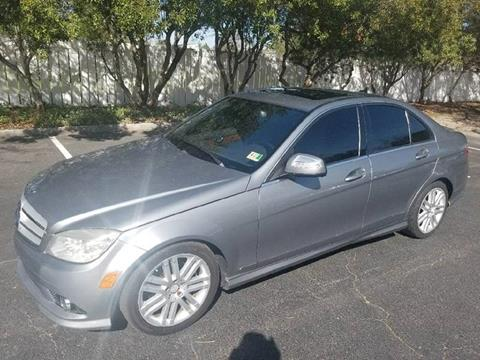 2009 Mercedes-Benz C-Class for sale at Coastal Auto Sports in Chesapeake VA