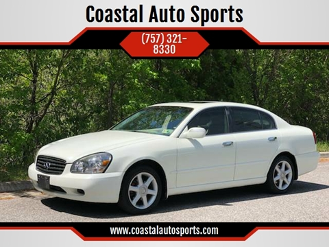 2004 Infiniti Q45 for sale at Coastal Auto Sports in Chesapeake VA