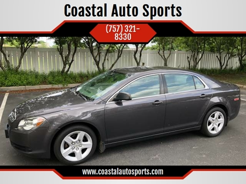 2011 Chevrolet Malibu for sale at Coastal Auto Sports in Chesapeake VA