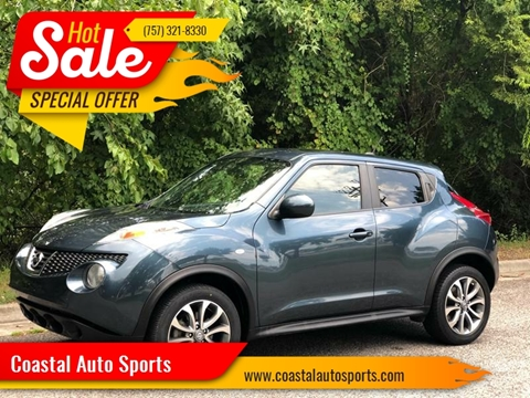2012 Nissan JUKE for sale at Coastal Auto Sports in Chesapeake VA