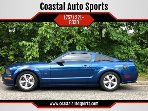 2007 Ford Mustang for sale at Coastal Auto Sports in Chesapeake VA