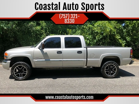 2004 GMC Sierra 2500HD for sale at Coastal Auto Sports in Chesapeake VA