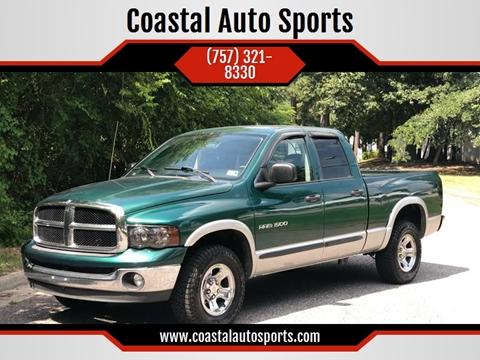 2003 Dodge Ram Pickup 1500 for sale at Coastal Auto Sports in Chesapeake VA