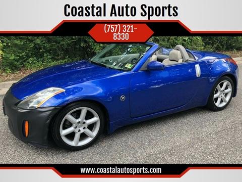 2004 Nissan 350Z for sale at Coastal Auto Sports in Chesapeake VA