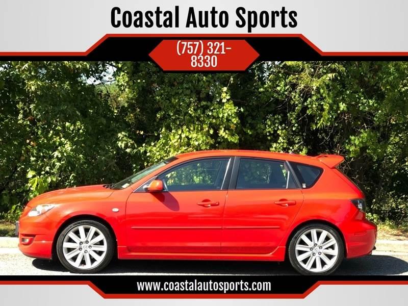 2008 Mazda MAZDASPEED3 for sale at Coastal Auto Sports in Chesapeake VA
