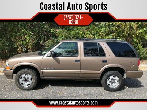 2004 Chevrolet Blazer for sale at Coastal Auto Sports in Chesapeake VA