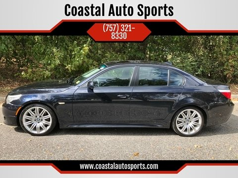 2008 BMW 5 Series for sale at Coastal Auto Sports in Chesapeake VA