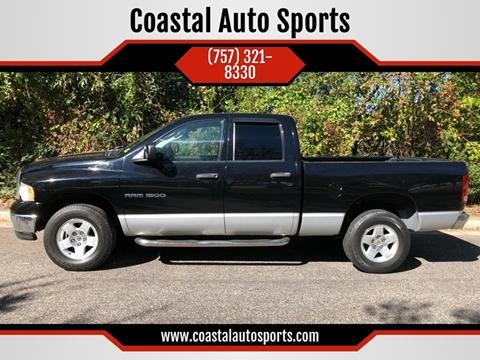 2004 Dodge Ram Pickup 1500 for sale at Coastal Auto Sports in Chesapeake VA