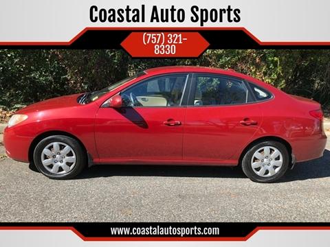 2008 Hyundai Elantra for sale at Coastal Auto Sports in Chesapeake VA