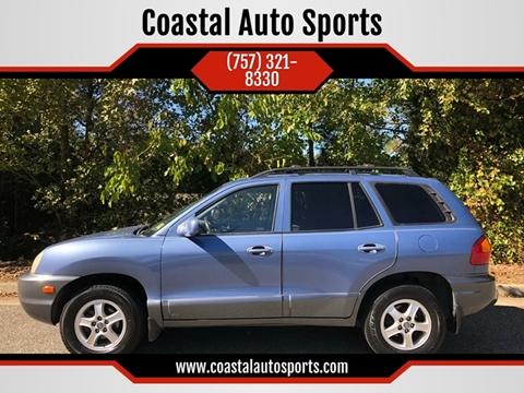 2002 Hyundai Santa Fe for sale at Coastal Auto Sports in Chesapeake VA