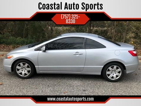2007 Honda Civic for sale at Coastal Auto Sports in Chesapeake VA