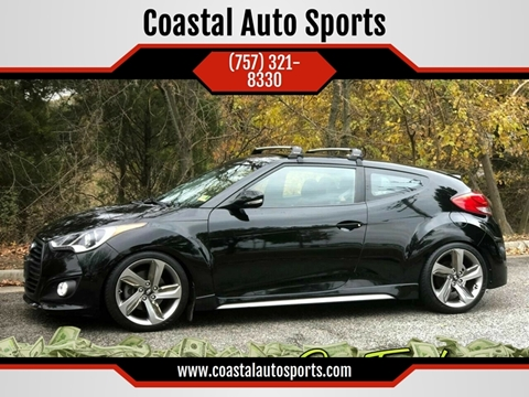 2014 Hyundai Veloster Turbo for sale at Coastal Auto Sports in Chesapeake VA