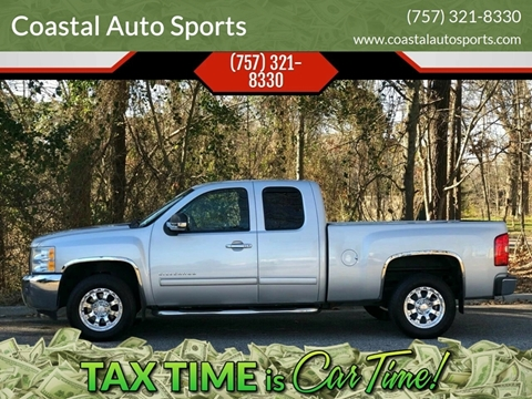 2012 Chevrolet Silverado 1500 for sale at Coastal Auto Sports in Chesapeake VA