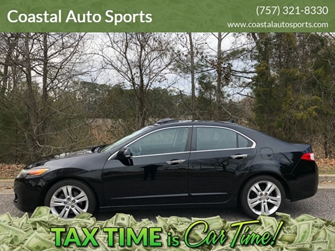 2010 Acura TSX for sale at Coastal Auto Sports in Chesapeake VA