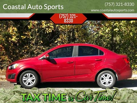 2012 Chevrolet Sonic for sale at Coastal Auto Sports in Chesapeake VA