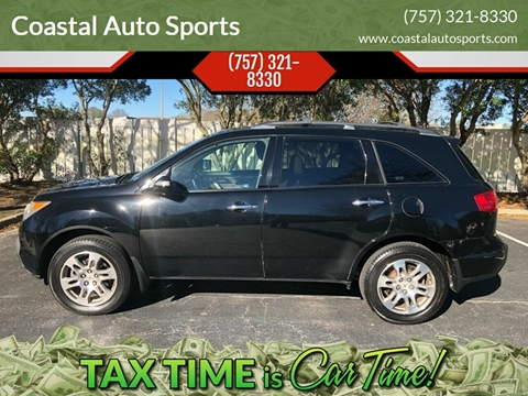 2007 Acura MDX for sale at Coastal Auto Sports in Chesapeake VA