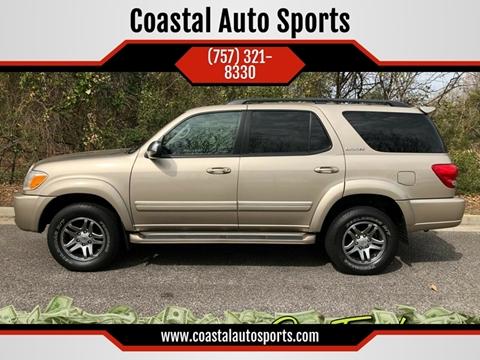 2007 Toyota Sequoia for sale at Coastal Auto Sports in Chesapeake VA