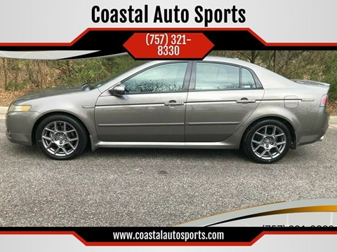 2008 Acura TL for sale at Coastal Auto Sports in Chesapeake VA