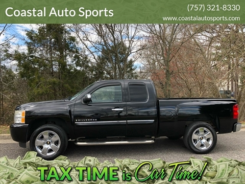 2009 Chevrolet Silverado 1500 for sale at Coastal Auto Sports in Chesapeake VA