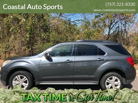 2011 Chevrolet Equinox for sale at Coastal Auto Sports in Chesapeake VA