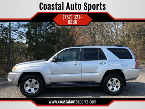 2005 Toyota 4Runner for sale at Coastal Auto Sports in Chesapeake VA
