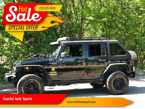 2011 Jeep Wrangler Unlimited for sale at Coastal Auto Sports in Chesapeake VA