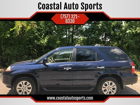 2003 Acura MDX for sale at Coastal Auto Sports in Chesapeake VA
