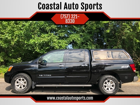 2005 Nissan Titan for sale at Coastal Auto Sports in Chesapeake VA