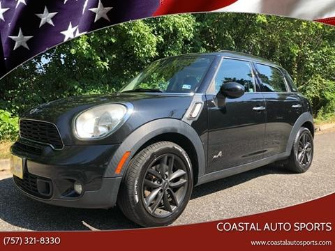 2013 MINI Countryman for sale at Coastal Auto Sports in Chesapeake VA