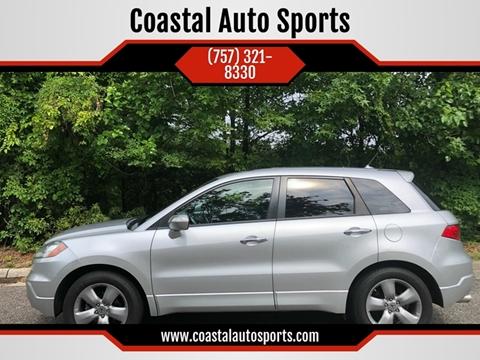 2007 Acura RDX for sale at Coastal Auto Sports in Chesapeake VA