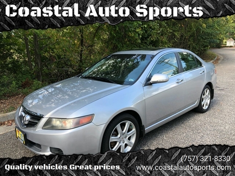 2005 Acura TSX for sale at Coastal Auto Sports in Chesapeake VA