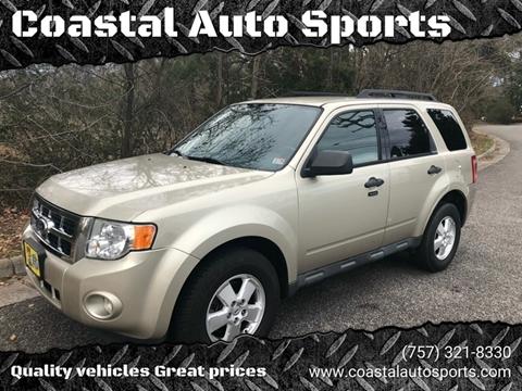 2012 Ford Escape XLT for sale at Coastal Auto Sports in Chesapeake VA