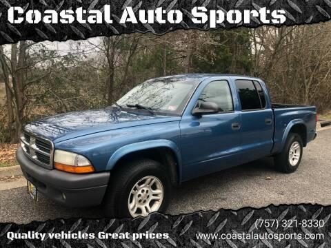 2004 Dodge Dakota for sale at Coastal Auto Sports in Chesapeake VA