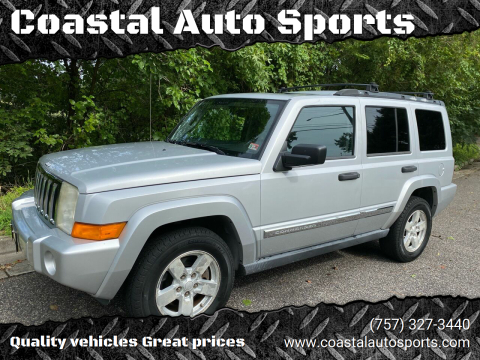 2006 Jeep Commander for sale at Coastal Auto Sports in Chesapeake VA