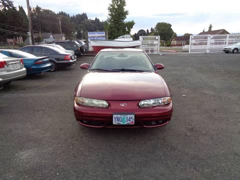 2002 Oldsmobile Alero for sale in Rainier, OR